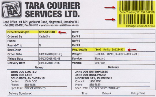 outlet store 08f1e 9a5b5 ... the order tracking ID is on the right-hand side, as ...