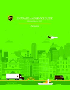 UPS Rate Guide JAMAICA 2017 (1) – Tara Courier Services Ltd